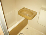浴室塗装工事施工前