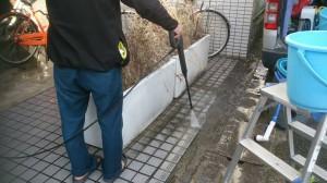 マンション共用部清掃 (1)